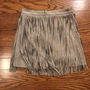 BB Dakota Skirts - BB Dakota fringe skirt